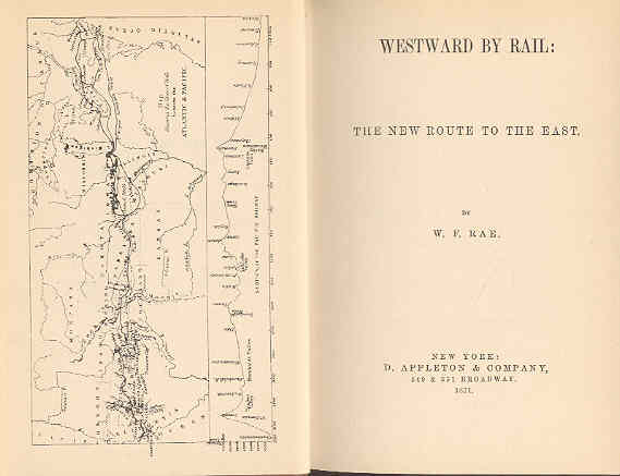 Image for Westward By Rail The New Route to the East