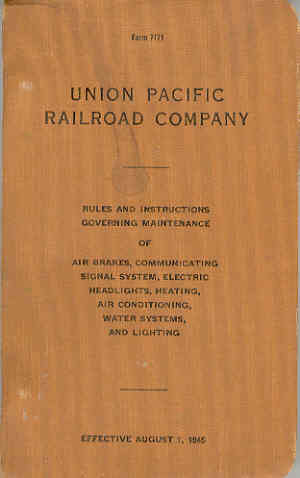 Image for Union Pacific Railroad Company Form 7171