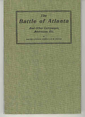 Image for The Battle of Atlanta And Other Compaigns, Addresses, Etc.