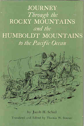 Image for Journey Through the Rocky Mountains and the Humboldt Mountains to the Pacific Ocean
