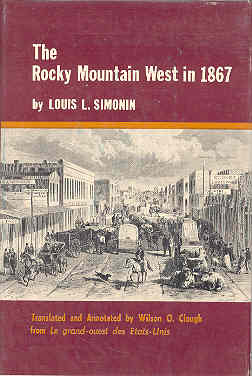 Image for The Rocky Mountain West 1867