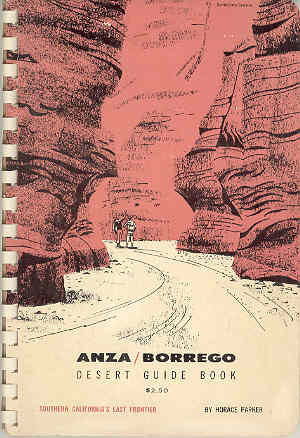 Image for Anza / Borrego Desert Guide Book