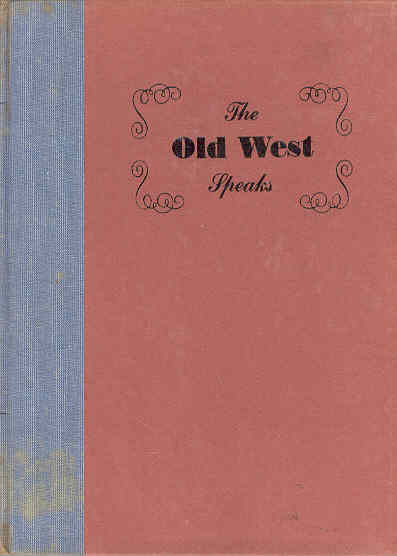 Image for The Old West Speaks