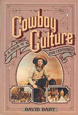 Image for Cowboy Culture: A Saga of Five Centuries