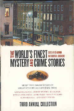 Image for The World's Finest Mystery and Crime Stories: Third Annual Collection
