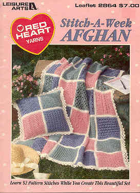 Image for Stitch-A-Week Afghan
