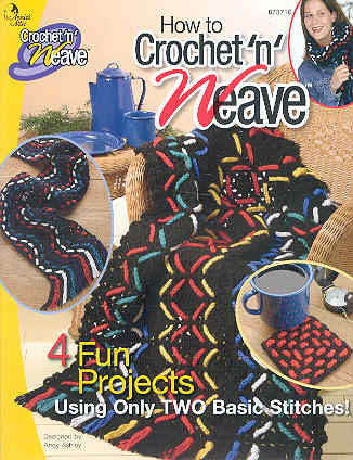Image for How to Crochet 'n' Weave