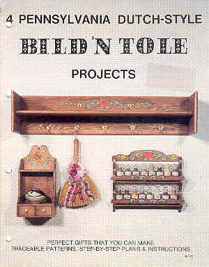 Image for 4 Pennsylvania Dutch-Style Bild 'N Tole Projects