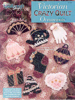 Image for Victorian Crazy Quilt Ornaments