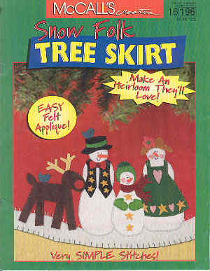 Image for Snow Folk Tree Skirt