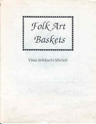 Image for Folk Art Baskets
