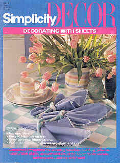 Image for Simplicity Decor Decorating with Sheets #0315