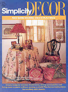 Image for Simplicity Decor No Sew Home Decorating #0317
