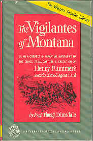 Image for The Vigilantes of Montana