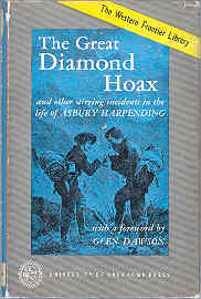 Image for The Great Diamond Hoax and Other Stirring Incidents in the Life of Asbury Harpending