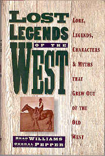 Image for Lost Legends of the West
