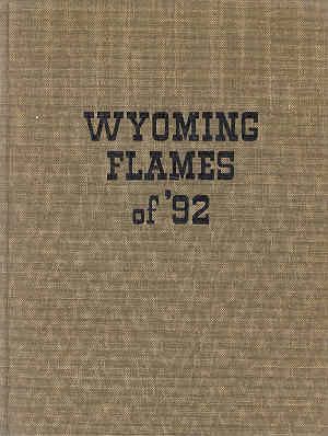 Image for Wyoming Flames of '92 Official Communications During the Johnson County Cattle War