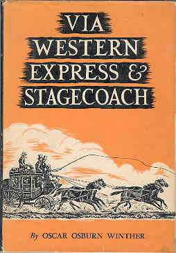 Image for Via Western Express & Stagecoach