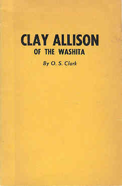 Image for Clay Allison of the Washita