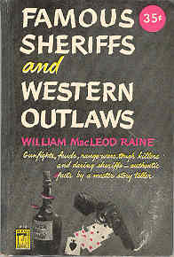 Image for Famous Sheriffs and Western Outlaws