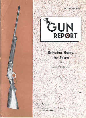 Image for The Gun Report Volume XXVI No 6 November 1980