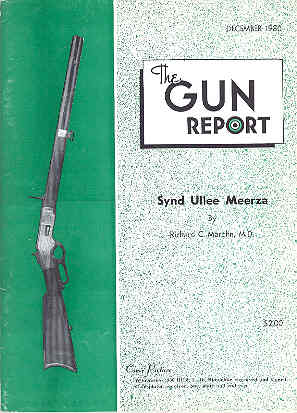 Image for The Gun Report Volume XXVI No 7 December 1980