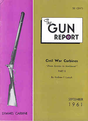 Image for The Gun Report Volume VII No 4 September 1961