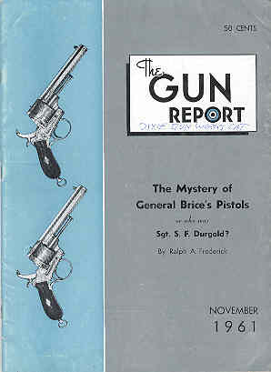 Image for The Gun Report Volume VII No 6 November 1961