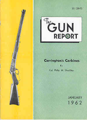Image for The Gun Report Volume VII No 8 January 1962