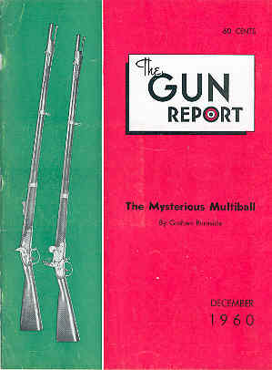 Image for The Gun Report Volume VI No 7 December 1960