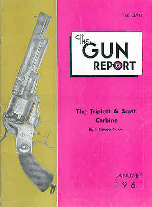 Image for The Gun Report Volume VI No 8 January 1961