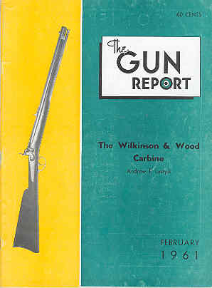 Image for The Gun Report Volume VI No 9 February 1961