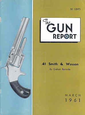 Image for The Gun Report Volume VI No 10 March 1961