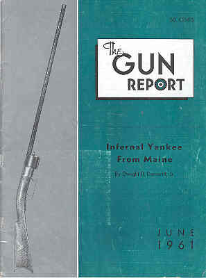 Image for The Gun Report Volume VII No 1 June 1961