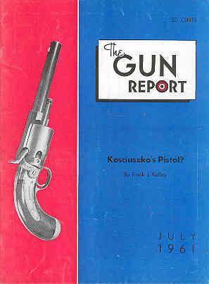 Image for The Gun Report Volume VII No 2 July 1961
