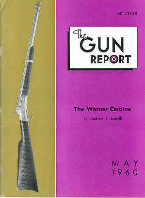 Image for The Gun Report Volume V No 12 May 1960