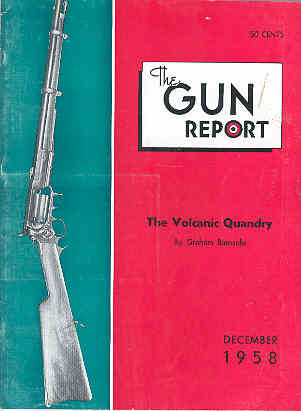 Image for The Gun Report Volume IV No 7 December 1958