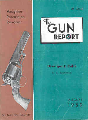 Image for The Gun Report Volume V No 3 August 1959