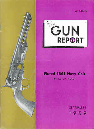 Image for The Gun Report Volume V No 4 September 1959