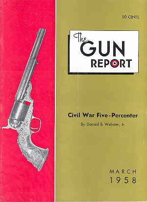 Image for The Gun Report Volume III No 10 March 1958