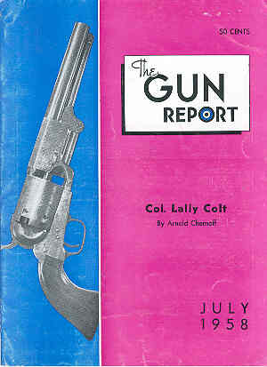 Image for The Gun Report Volume IV No 2 July 1958