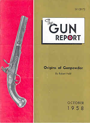 Image for The Gun Report Volume IV No 5 October 1958