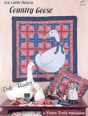 Image for Country Goose Log Cabin Pattern