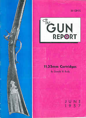 Image for The Gun Report Volume III No 1 June 1957
