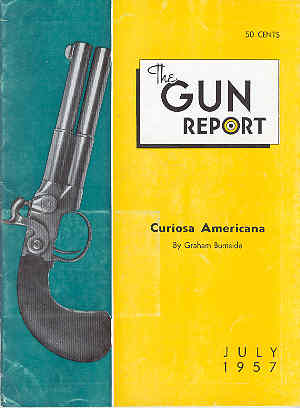 Image for The Gun Report Volume III No 2 July 1957
