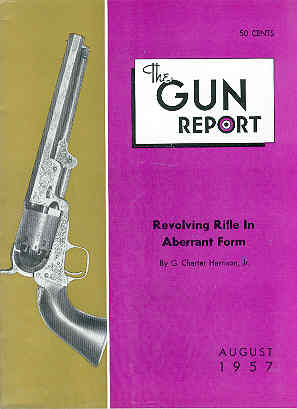 Image for The Gun Report Volume III No 3 August 1957