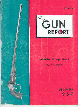 Image for The Gun Report Volume III No 7 December 1957