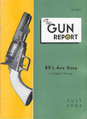 Image for The Gun Report Volume II No. 2 July 1956