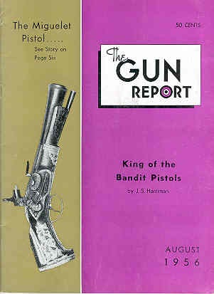 Image for The Gun Report Volume II No 3 August 1956
