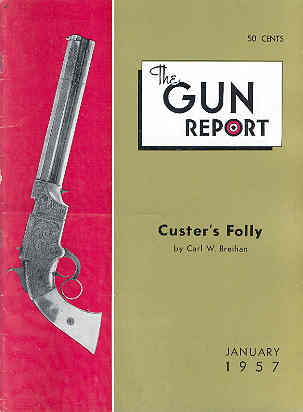 Image for The Gun Report Volume II No 8 January 1957